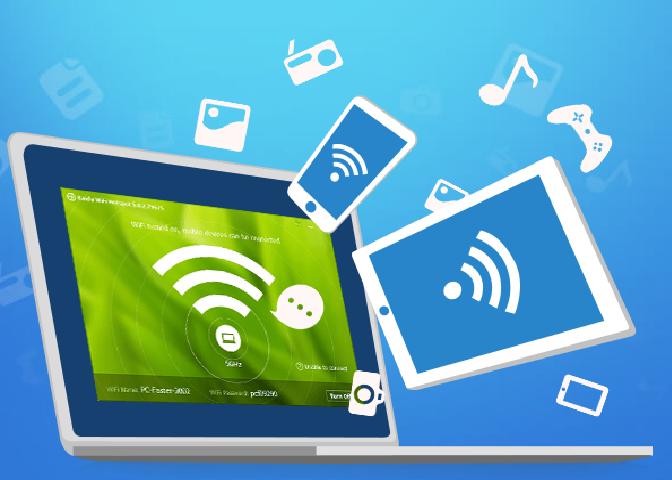 wifi para todos desde la pc  PC en un Modem