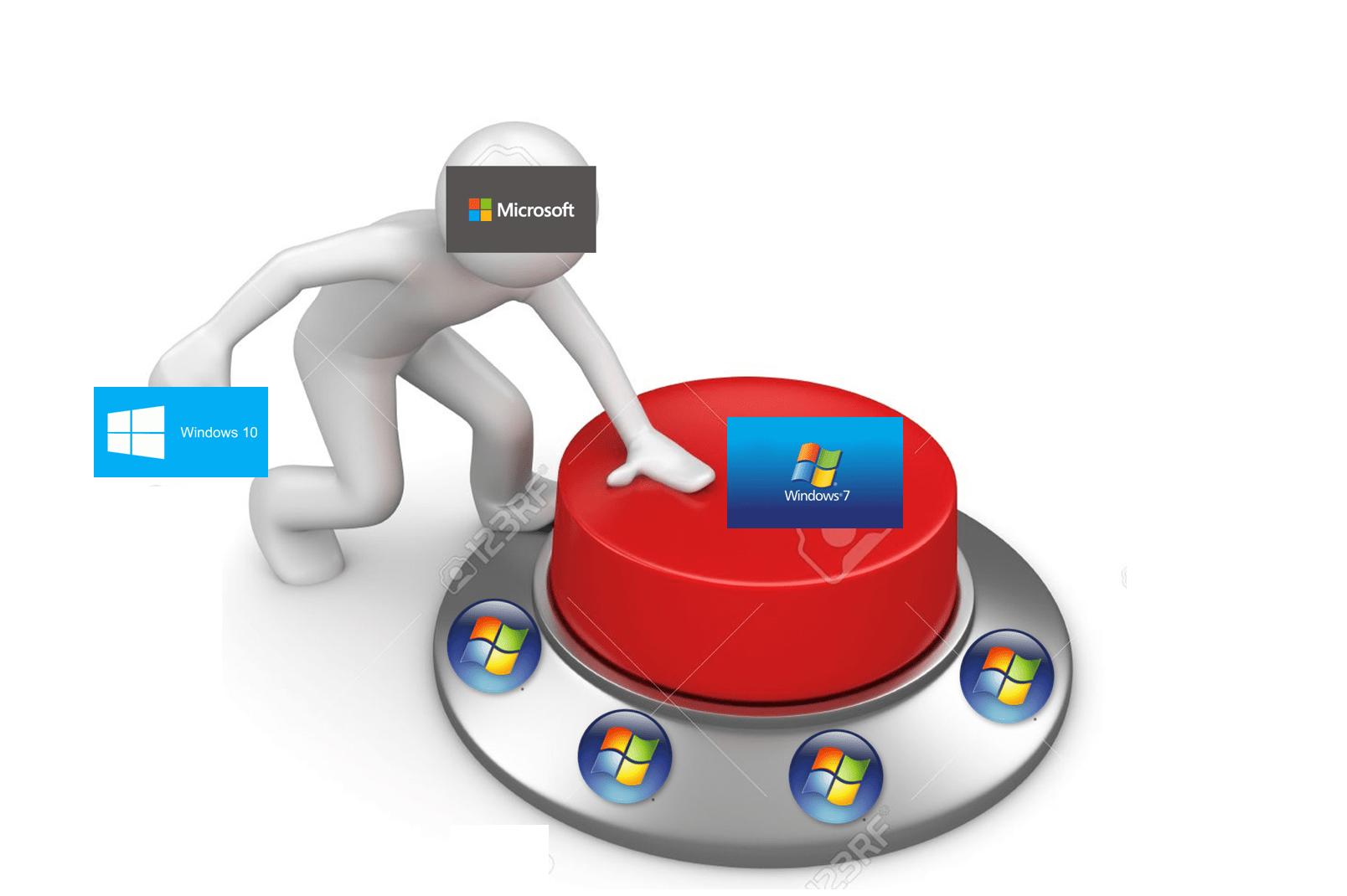 Microsoft elimina windoes 7 El fin de Windows 7