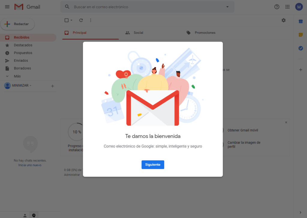 nuevo correo gmail en internet Google esta cerrando