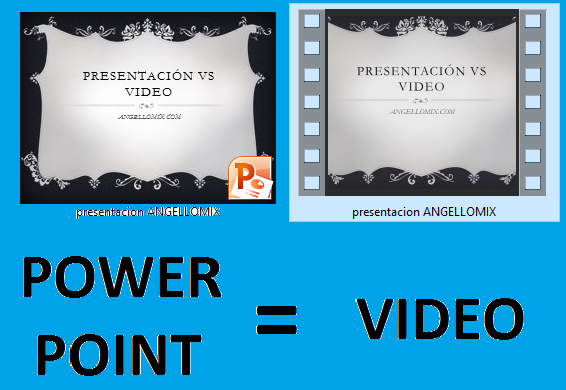 Convertir Documento de Power Point en video