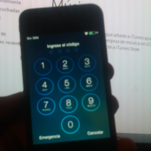 eliminar pin de bloqueo en iphone desde itunes