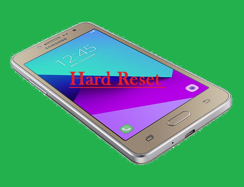 Hard Reset en Samsung GALAXY Grand Prime