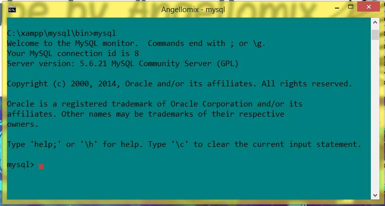 Como utilizar xampp con nuestro Terminal (CMD) crear bases de datos, tablas, etc.