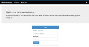 Sistema web mantenimiento pc