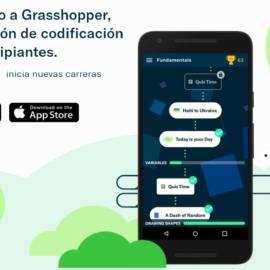 La aplicación de codificación Grasshopper