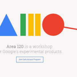 Que es el Area 120 de Google?