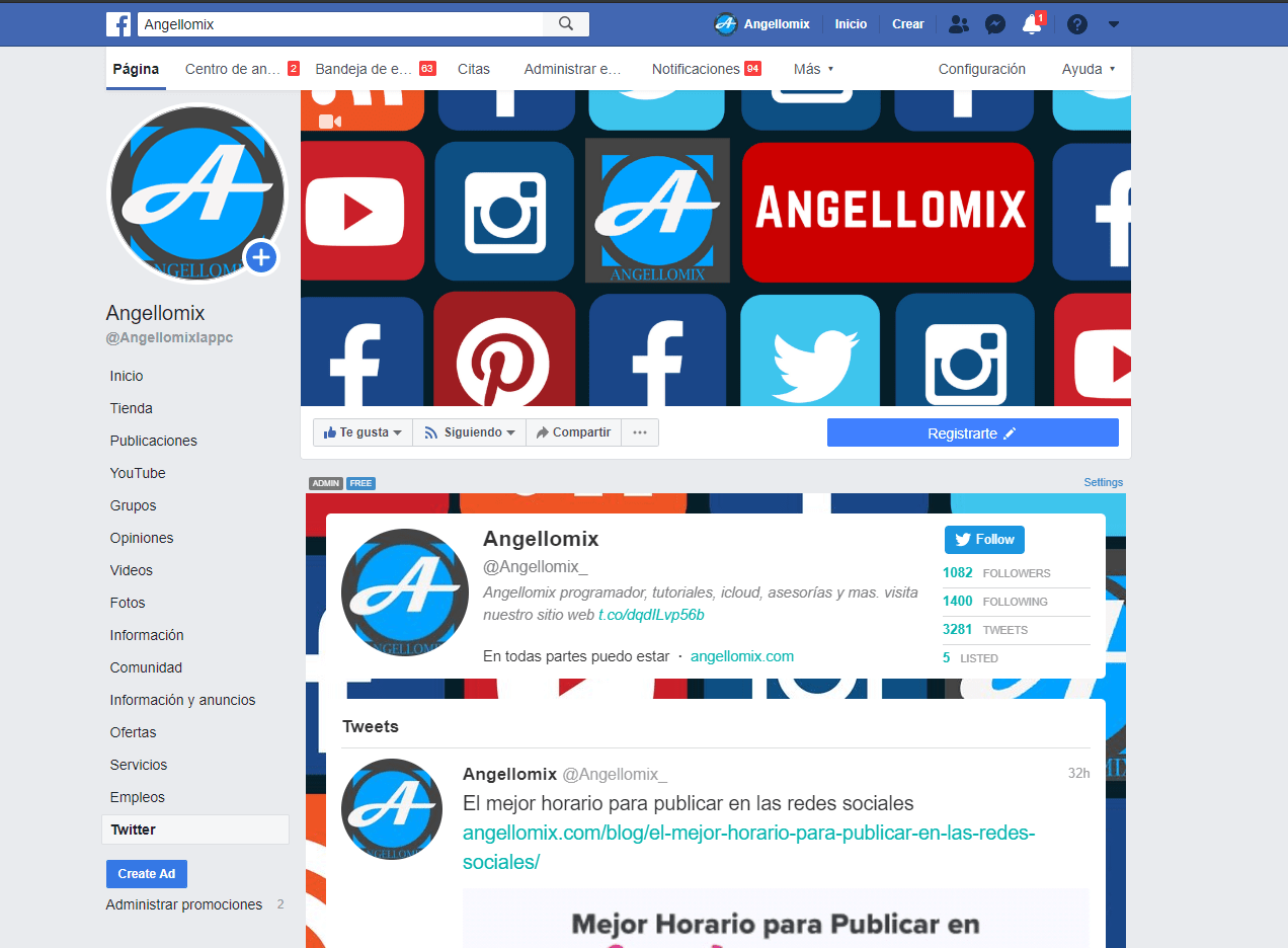 angellomix facebook