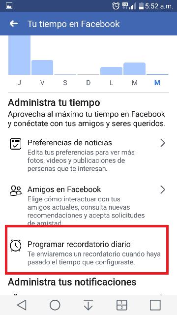 cuanto tiempo estoy en facebook a diario 5