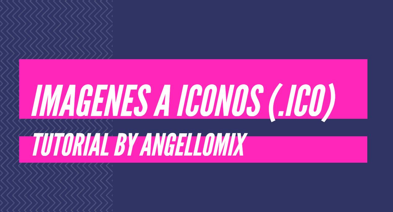 Convertir imagenes a iconos