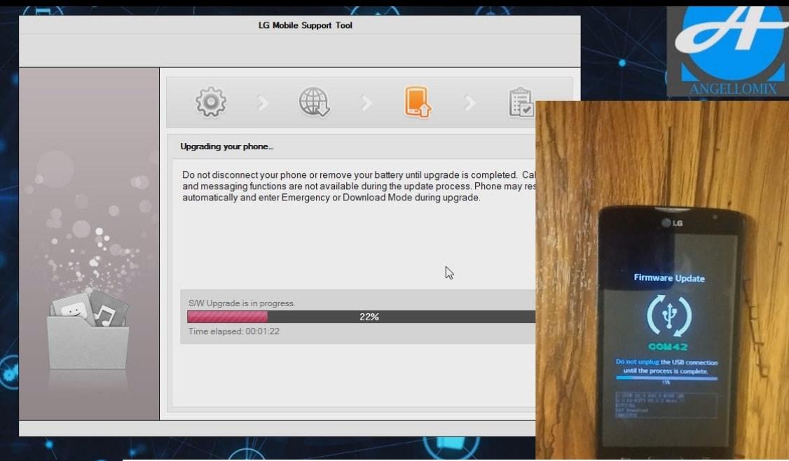 Instalar ROOM KDZ a todos los equipos LG con LG Flash Tool