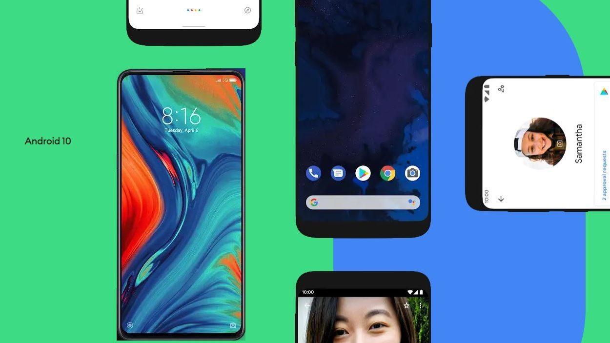 Actualizacion de android 10