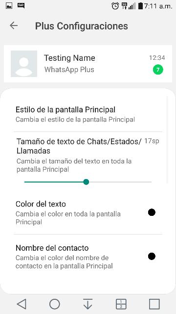 Ultima actualizacion de whatsapp plus 2019 whatsapp plus 8.10 noviembre 2019 7