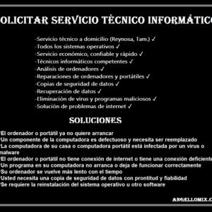 servicio tecnico informatico en reynosa tamaulipas