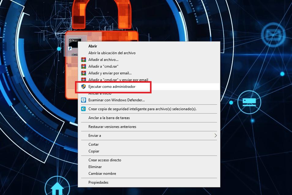 ejecutar como administrador cmd o cualquier programa en windows min