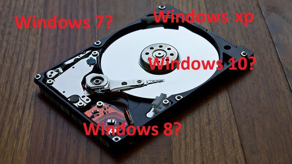 Como saber que versión de Windows Tiene un Disco Duro