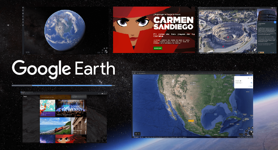 Como divertirnos con Google Earth