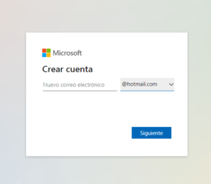 crear correo hotmail extension hotmail u outlook