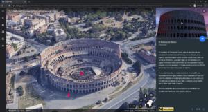 descubre lugares historicos en 3D con google earth