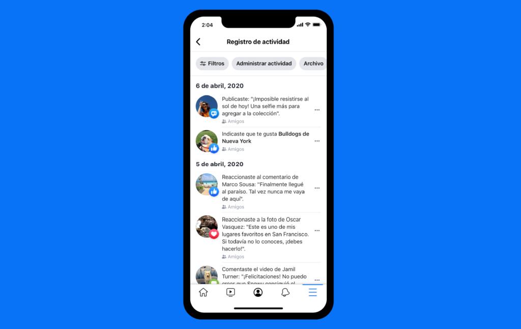 Administrar actividad de facebook eliminar para siempre tu actividad sin borrar tu cuenta