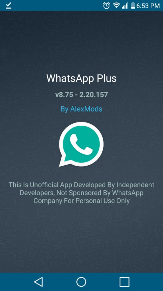 WhatsApp Plus ultima versión actualizada v8.75 de whatsapp plus 2020