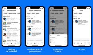 facebook presenta administrar actividad desaparece lo que no quieres de tu perfil