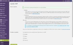 Escritorio de plugin amp para paginas amp compatibles con google y dispositivos moviles