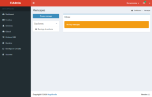 panel de mensajes para todos los usuarios