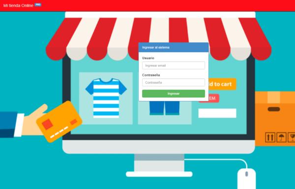 tienda online sistema web