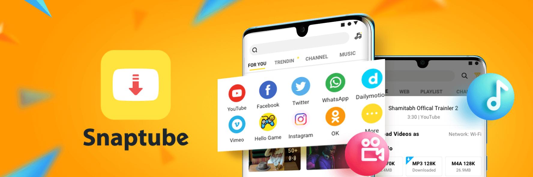 Descarga vídeos en segundos con Snaptube