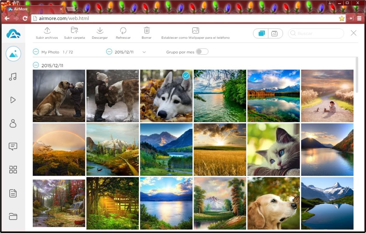 airmore envio de fotos archivos o videos a tu computadora por wifi