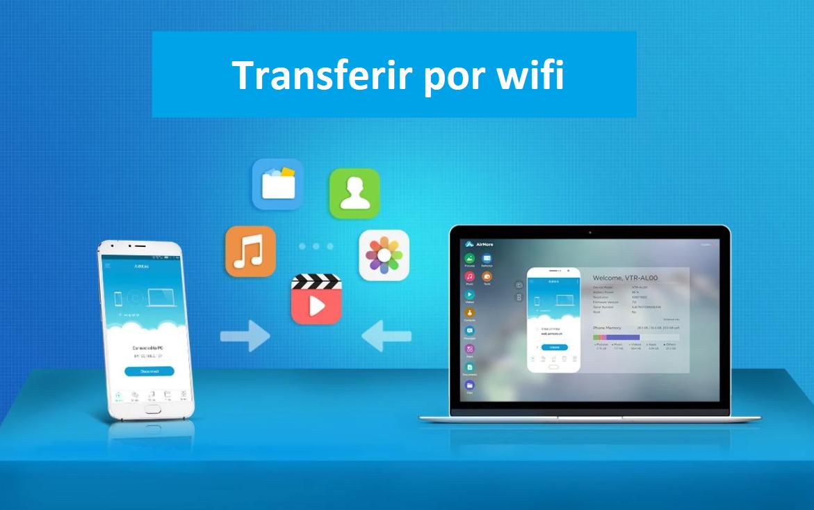 Como transferir fotos y archivos de celular a PC por WIFI