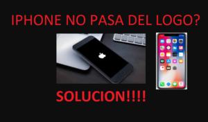 Revivir iphone no prende, iphone no pasa del logo, iphone pantalla negra
