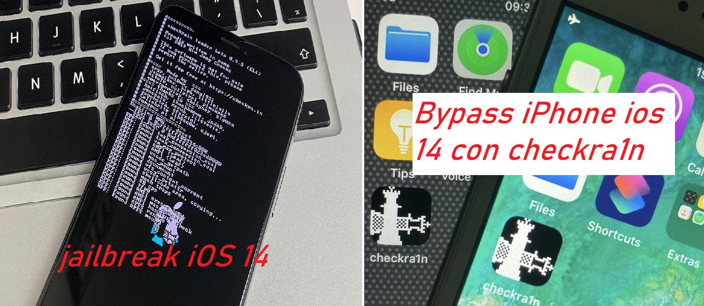 Bypass iPhone iOS 14 instalación de jailbreak