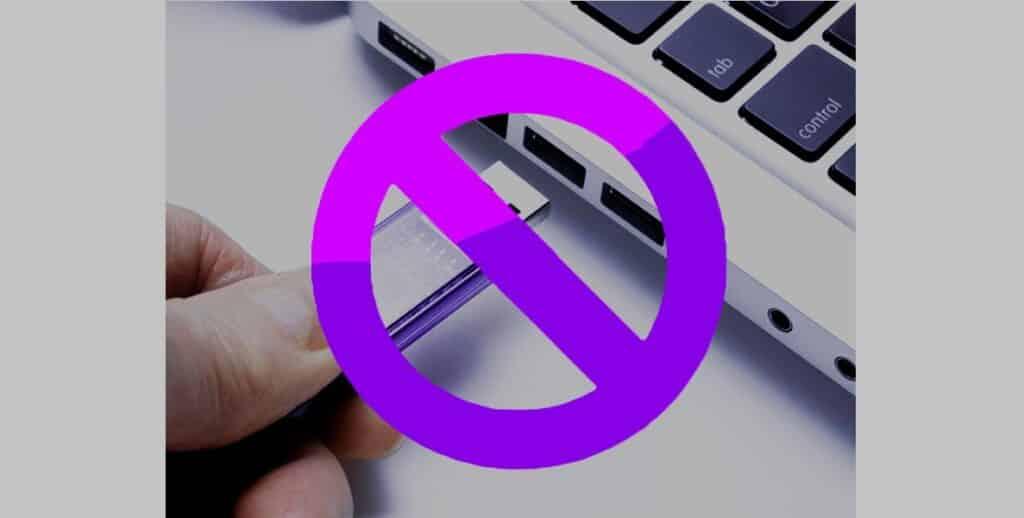Bloquear Puertos USB temporalmente