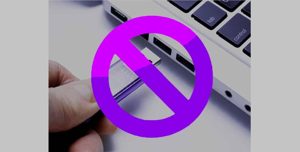 Como bloquear los puertos USB de mi computadora