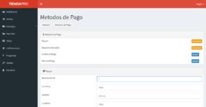 Métodos de pago; PayPal, Deposito Bancario, Contra entrega y Mercado Pago